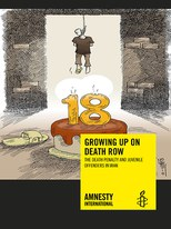 Cover Bericht «Growing up on death row: The death penalty and juvenile offenders»