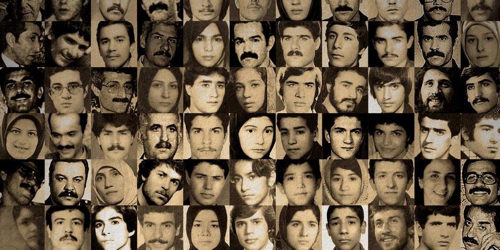 Fotos von Gefangenen, die 1988 ermordet worden sind © privat