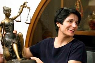 Nasrin Sotoudeh vorübergehend freigelassen