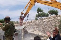 Zerstörung von palästinensischen Häusern © CPT