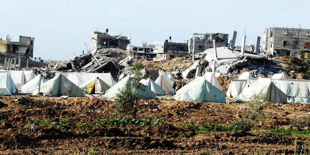 Zerstörte Häuser in Gaza 2009 © Amnesty International