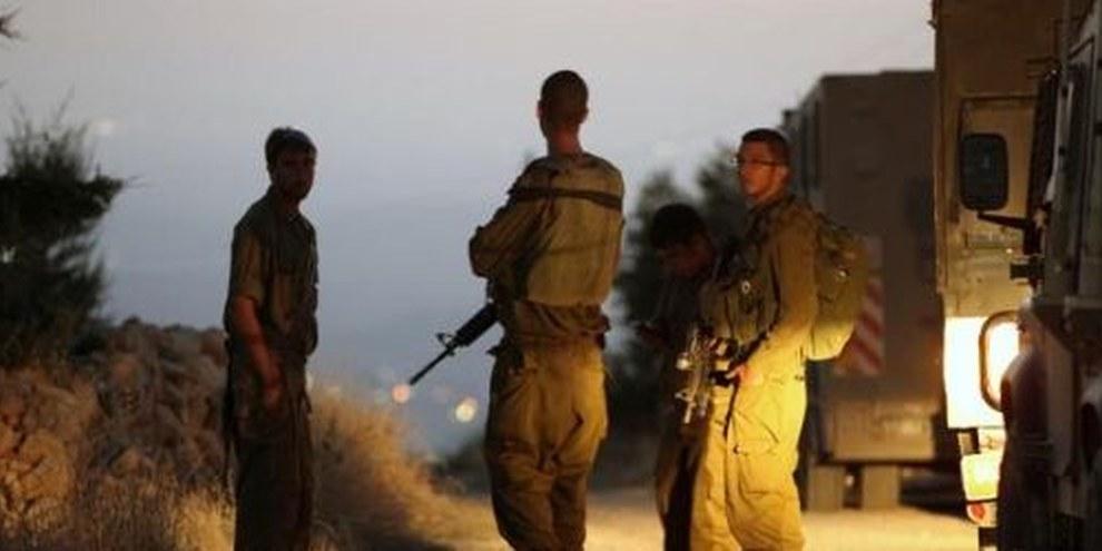 Israelische Soldaten nahe der Stelle, wo die Leichen der entführten Jugendlichen gefunden wurden. © HAZEM BADER/AFP/Getty Images