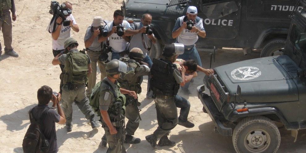Für PalästinenserInnen gilt in der Westbank Militärrecht © Amnesty International, Andrea Bodekull