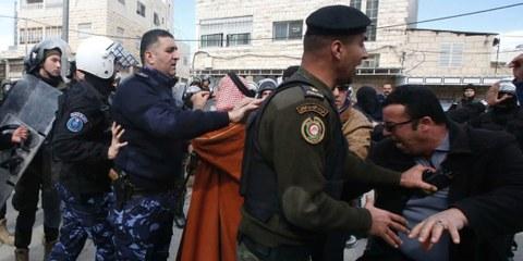 Sicherheitskräfte der palästinensischen Autonomiebehörde © Amnesty International