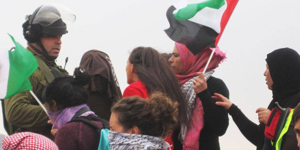 Protest in Nabi Saleh © Amnesty International