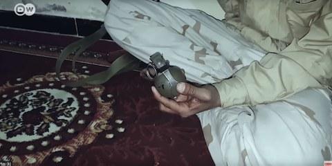 Ein Bericht der Deutschen Welle zeigt, dass Kriegsmaterial aus westlichen Ländern via die Vereinigten Arabischen Emirate an jemenitische Milizen gelangte – darunter auch Handgranaten des Schweizer Rüstungskonzerns Ruag. © Deutsche Welle