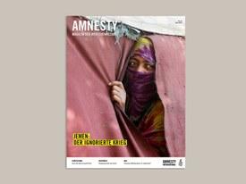 Amnesty-Magazin zum Jemen-Krieg
