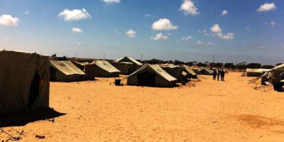Flüchtlingslager Choucha an der tunesisch-libyschen Grenze © Amnesty International