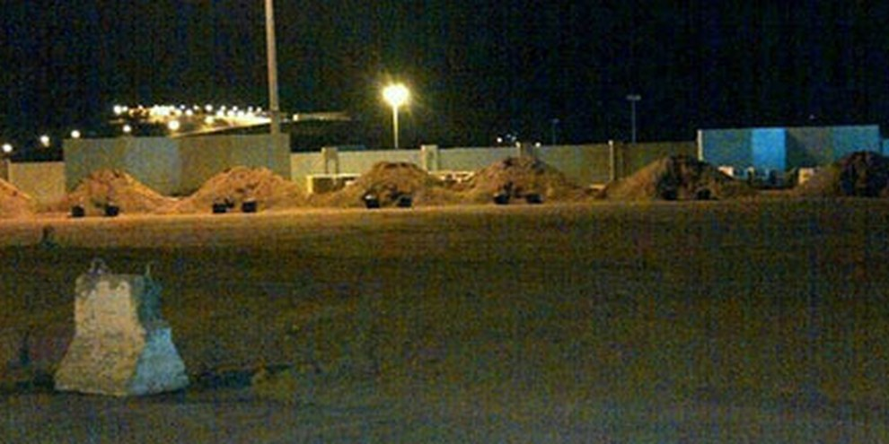 Hinrichtungsplatz in Saudi-Arabien. © Privat