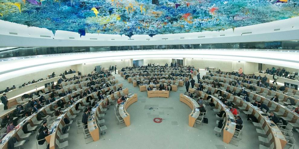 Die Menschenrechtsbilanz Saudi-Arabiens ist desaströs und hat sich seit der Mitgliedschaft im Menschenrechtsrat weiter verschlechtert. © UN Photo