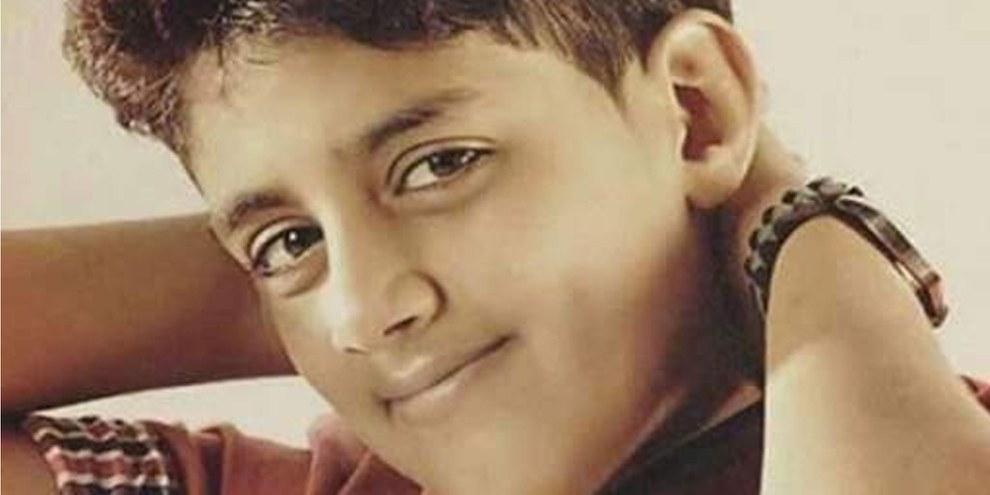 Wurde als 13-Jähriger verhaftet: Murtaja Qureiris. © zvg