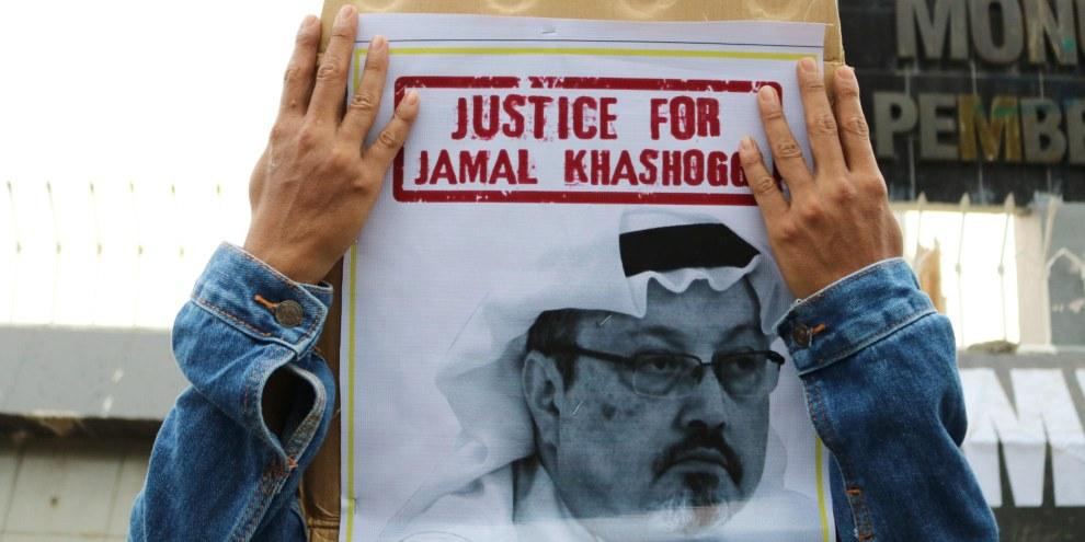 Noch keine Gerechtigkeit für Jamal Khashoggi: Das Verfahren vor einem saudischen Gericht war intransparent. © Herwin Bahar / Shutterstock.com
