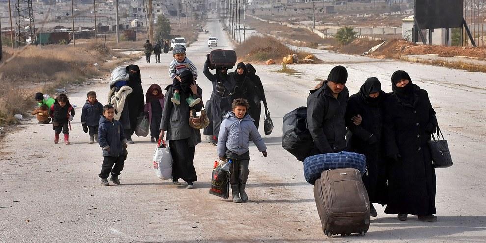 Der Krieg in Syrien hat der Bevölkerung unvorstellbares Leid gebracht.  © GEORGE OURFALIAN/AFP/Getty Images