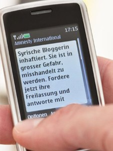 SMS-Aktionen