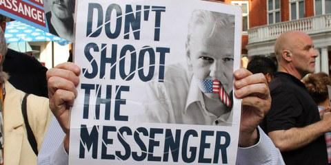 USA müssen die Klage gegen Julian Assange zurückziehen