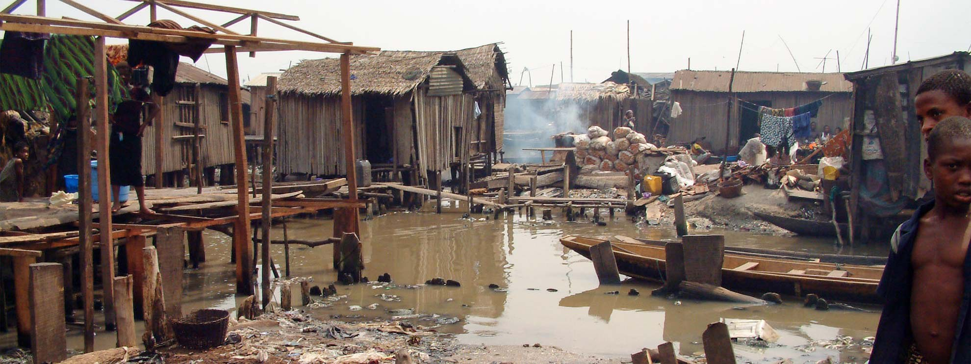 Slum in Makoko (Lagos, Nigeria) © Amnesty International