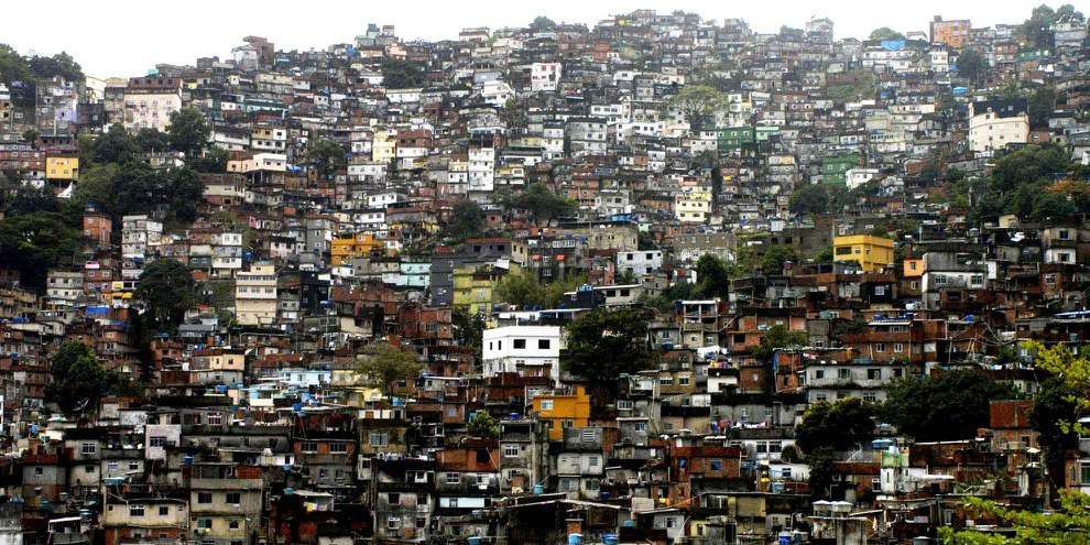 Die Favela Rocinha in Rio de Janeiro, Brasilien. © Christian Franz Tragni / Demotix