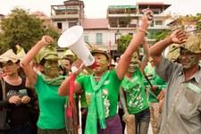 Frauen im Kampf gegen Zwangsräumungen