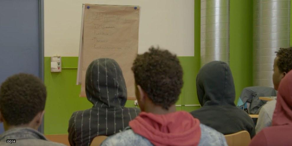 Allein in der Fremde: Eritreas junge Ausbrecher. Screenshot vom Film auf arte.tv © arte.tv / 2017 DokLab