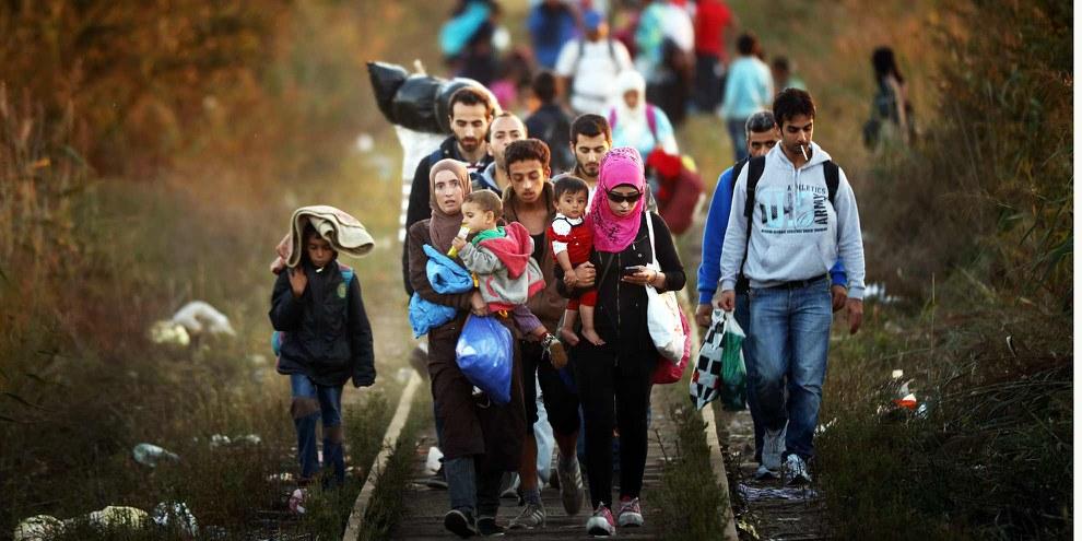 Die Flüchtlingskrise ist eine riesige Herausforderung für Europa, aber keine existenzielle Bedrohung.  © Christopher Furlong/Getty Images