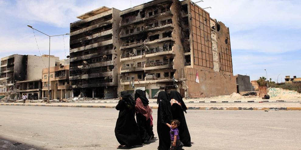 Misrata, Juni 2011 © UNHCR / H. Caux