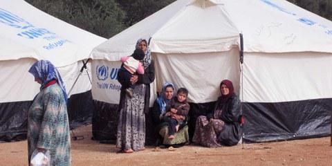 Flüchtlingscamp in Syrien, Februar 2013. © Amnesty International