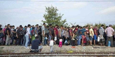 Die dringlichen Appelle der UNO für Hilfsgelder zugunsten der Flüchtlinge verpuffen.  © Amnesty International Richard Burton