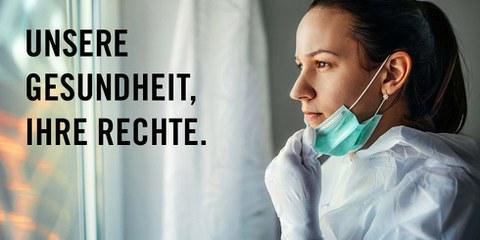 Unsere Gesundheit, ihre Rechte