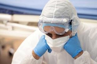 Beschäftigte im Gesundheitswesen in Gefahr