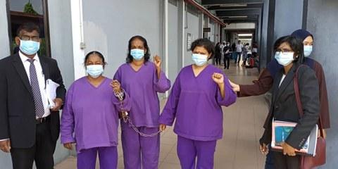 Eine E-Mail Aktion unterstützte die Protestierenden und half, dass diese freigelassen werden. © Amnesty International