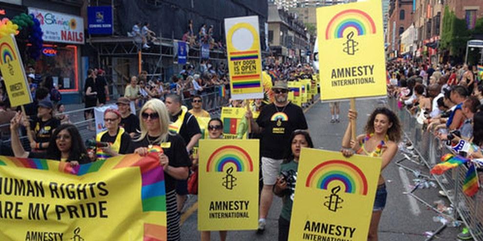 Toronto Pride Parade 2014© Amnesty International