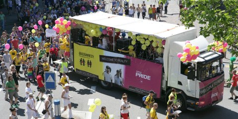 Queeramnesty an der Zurich Pride 2012