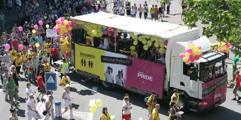 Queeramnesty an der Zurich Pride 2012