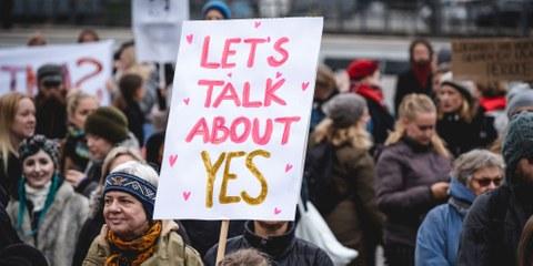 Europäische Gesetze gegen Vergewaltigung müssen reformiert werden