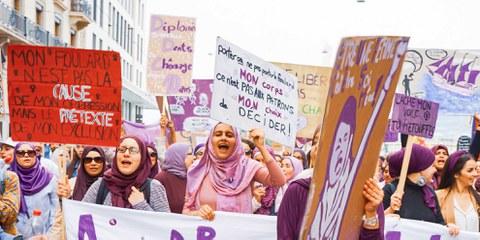 Die Burka-Initiative in der Schweiz