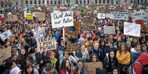 Der Klimawandel macht jungen Menschen grosse Sorgen, denn es geht um ihre Zukunft. © Mitja Kobal
