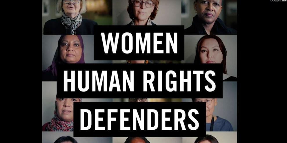 Women human rights defenders
