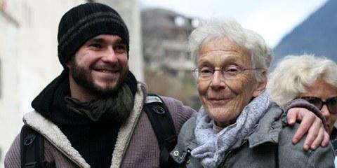 Anni Lanz, die sich seit Jahrzehnten für Flüchtlinge engagiert, wurde 2019 wegen der Unterstützung eines schwer kranken Asylsuchenden verurteilt. © AI