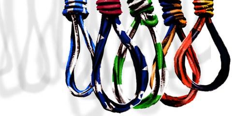 Abgesehen von China fanden 87 Prozent der Hinrichtungen in nur vier Ländern statt: Iran, Saudi-Arabien, Irak und Pakistan.© Amnesty International