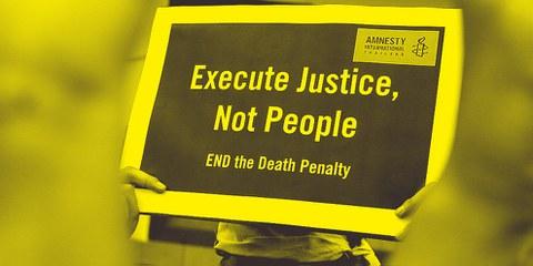 Abonnieren Sie den Newsletter gegen Todesstrafe und Folter