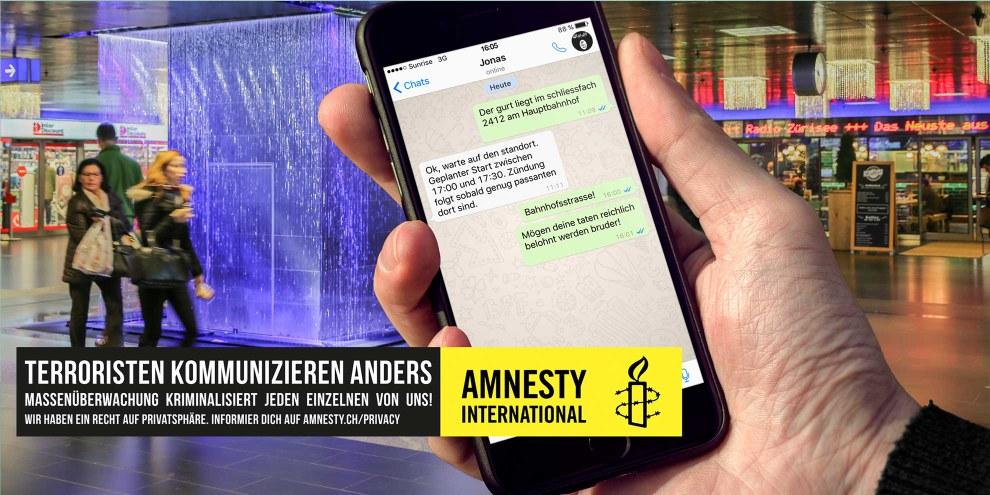 Terroristen kommunizieren anders! – Klicken auf Bild für weitere Bilder © André Rivas