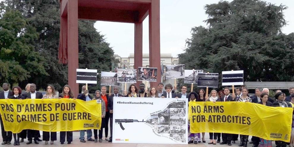 Arms Trade Treaty (ATT) Konferenz in Genf