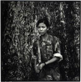 Kindersoldatin in Nepal © Philip Blenkinsop