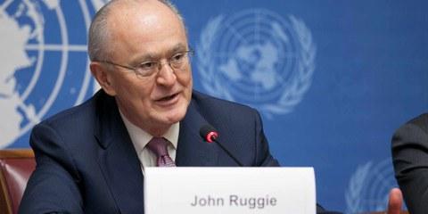 Professor John Ruggie starb Mitte September. Sein Kampf für die Menschenrechte wird immer in Erinnerung bleiben. © U.S. Mission Photo by Eric Bridiers