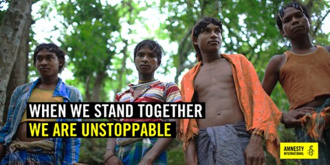 Together we are unstoppable