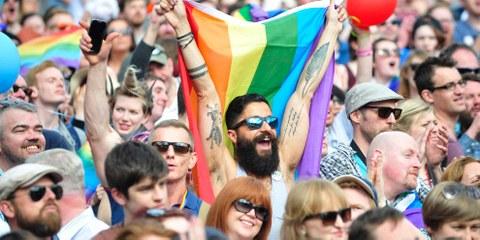 20.Irland: Die Bevölkerung sagt YES zu gleichen Rechten für alle © EPA/AIDAN CRAWLEY/Corbis