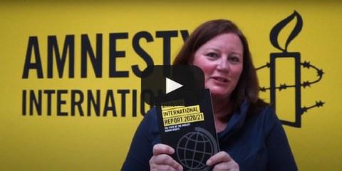 Die Geschäftsleiterin Alexandra Karle zum Amnesty International Report