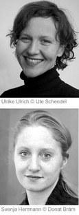 Ulrike Ulrich und Svenja Herrmann