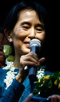 Für Aung San Suu Kyi hatte sich AI wiederholt eingesetzt. © AI