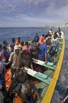 Flüchtlingsboot vor Teneriffa